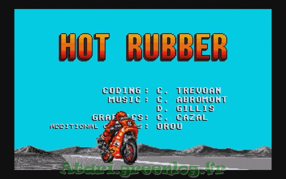 Hot Rubber : Impression d'écran 4