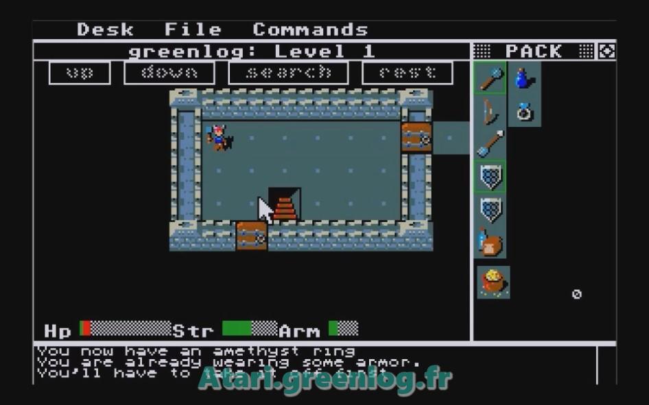 Rogue : Impression d'écran 4