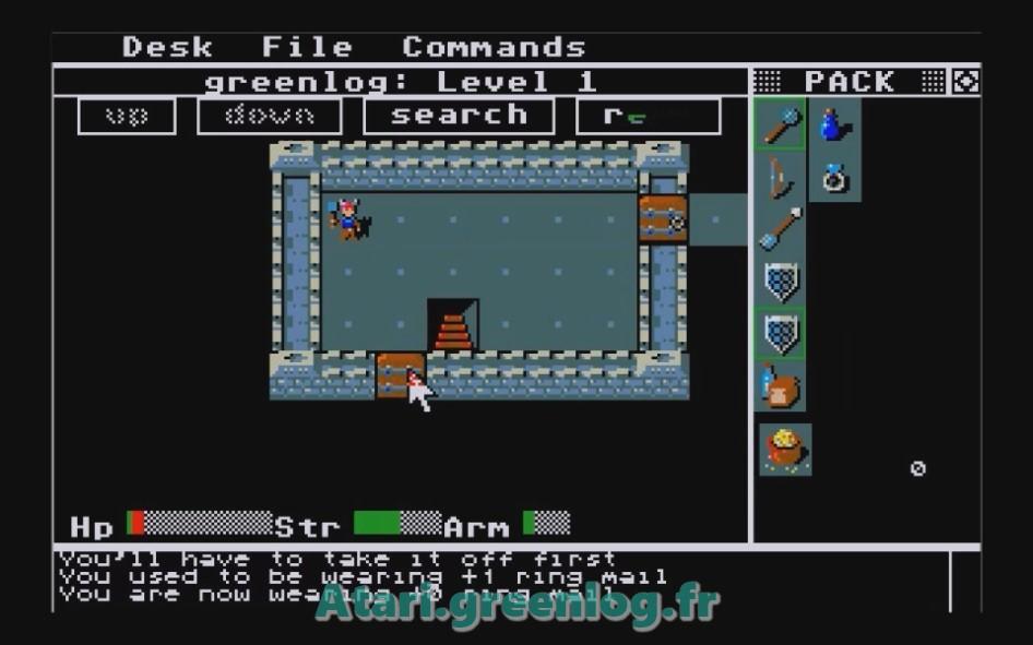 Rogue : Impression d'écran 5
