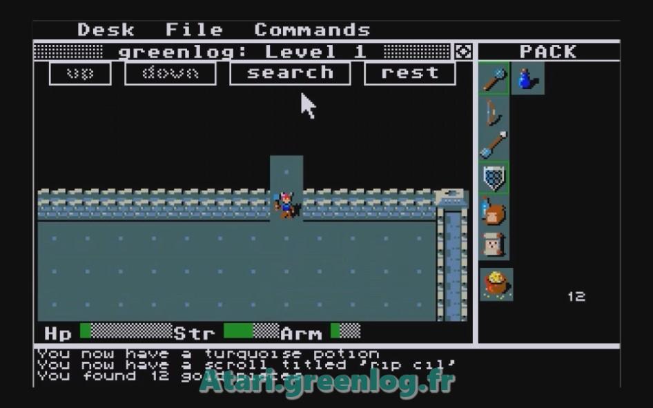 Rogue : Impression d'écran 8