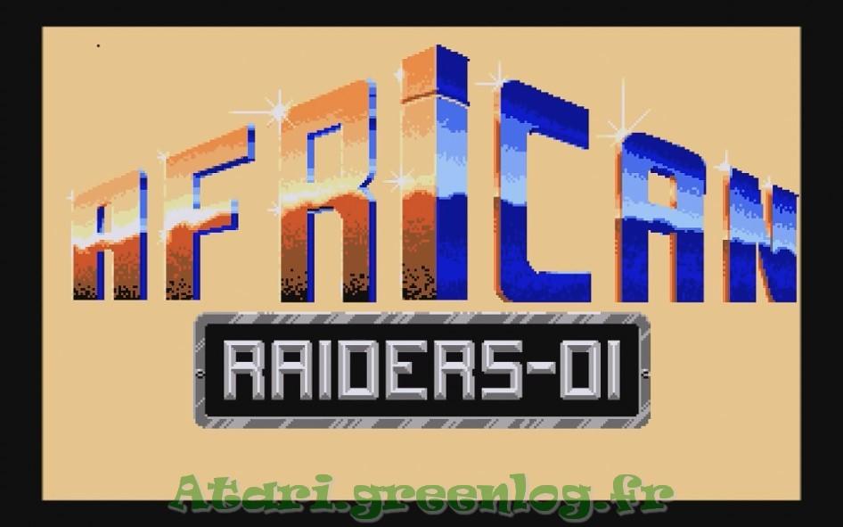 African raiders : Impression d'écran 1