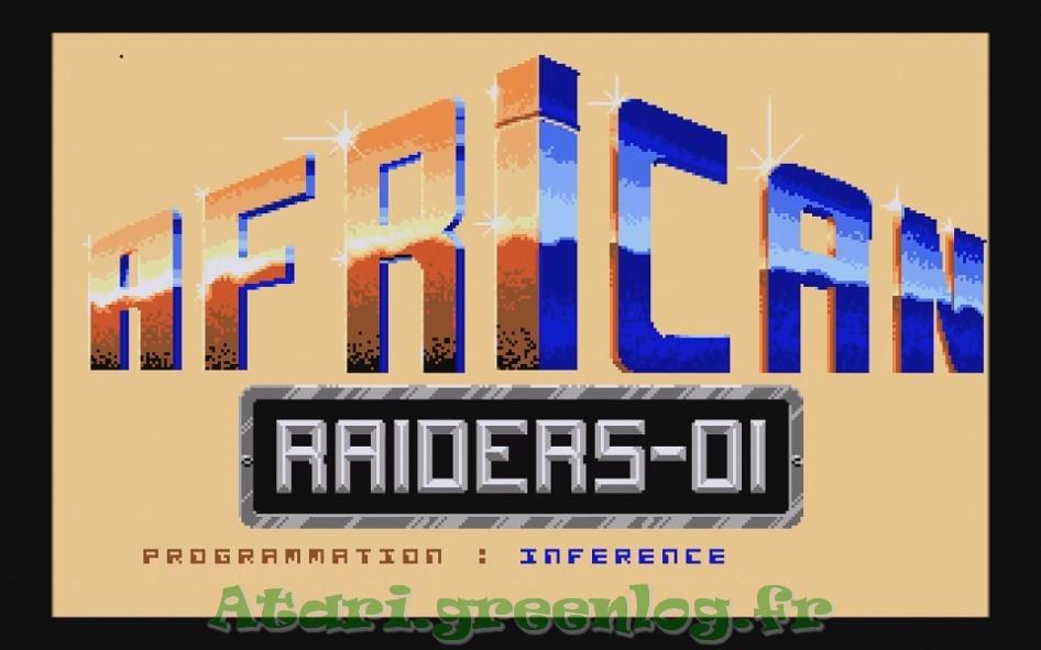 African raiders : Impression d'écran 2
