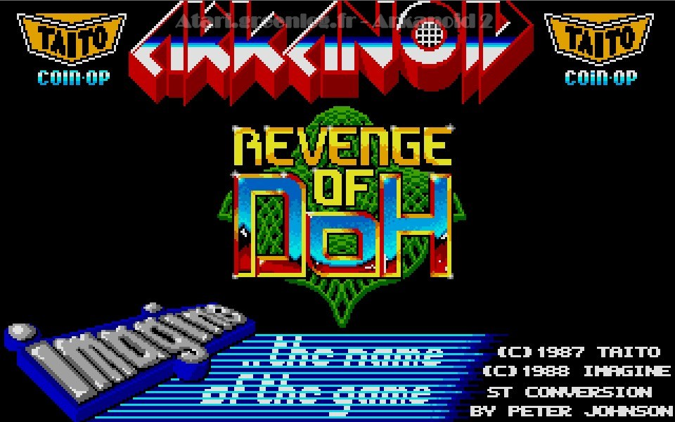 Arkanoid 2 – revenge of doh