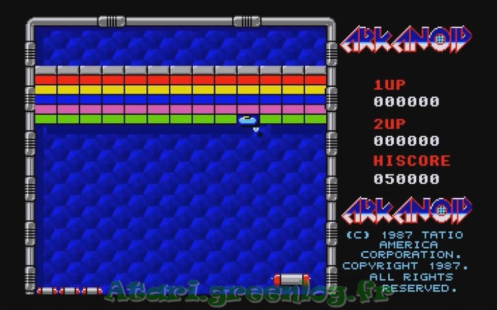 Arkanoid : Impression d'écran 3