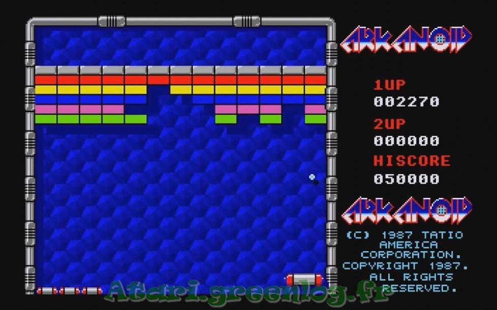 Arkanoid : Impression d'écran 4