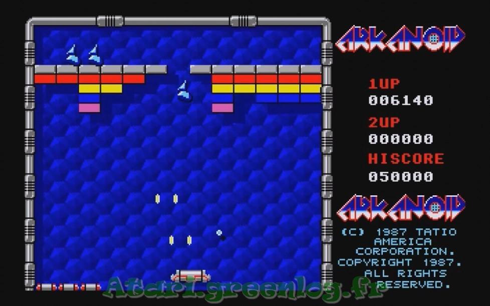 Arkanoid : Impression d'écran 5