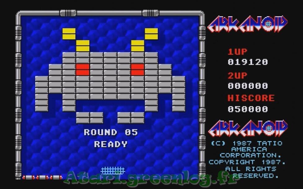 Arkanoid : Impression d'écran 10