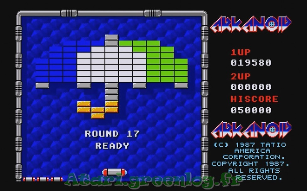 Arkanoid : Impression d'écran 15
