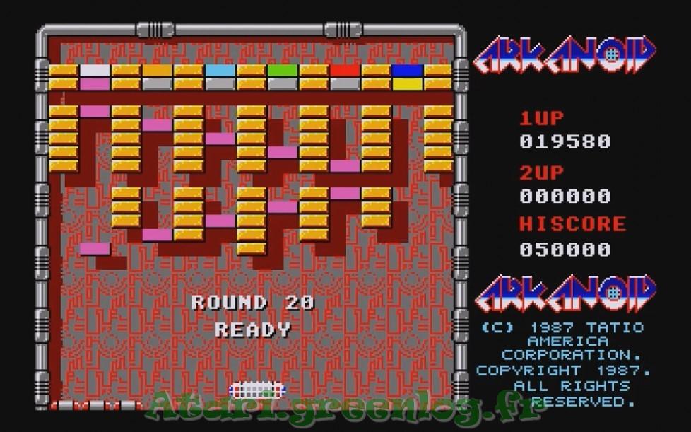 Arkanoid : Impression d'écran 18
