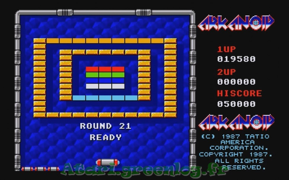 Arkanoid : Impression d'écran 19
