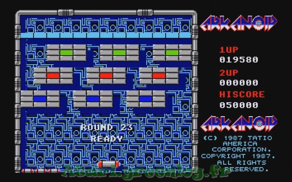 Arkanoid : Impression d'écran 21