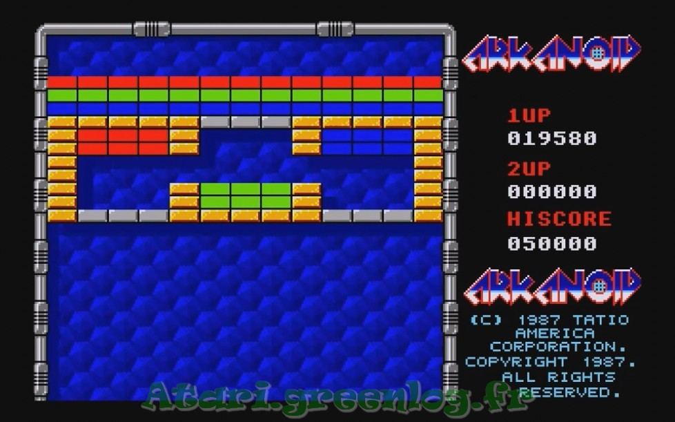 Arkanoid : Impression d'écran 23