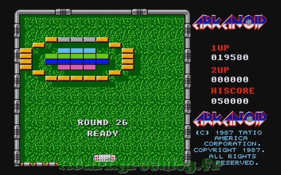 Arkanoid : Impression d'écran 24