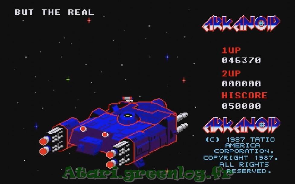 Arkanoid : Impression d'écran 37