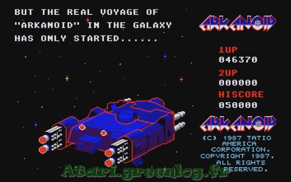 Arkanoid : Impression d'écran 38