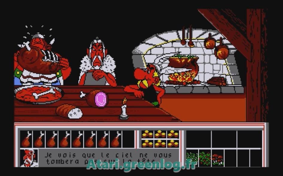 Astérix et le coup du menhir : Impression d'écran 6