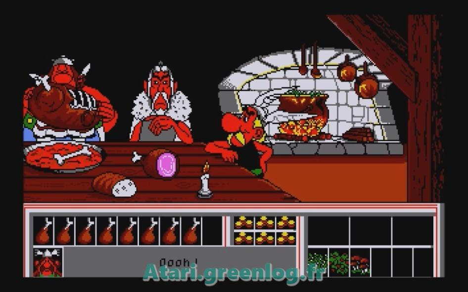 Astérix et le coup du menhir : Impression d'écran 7