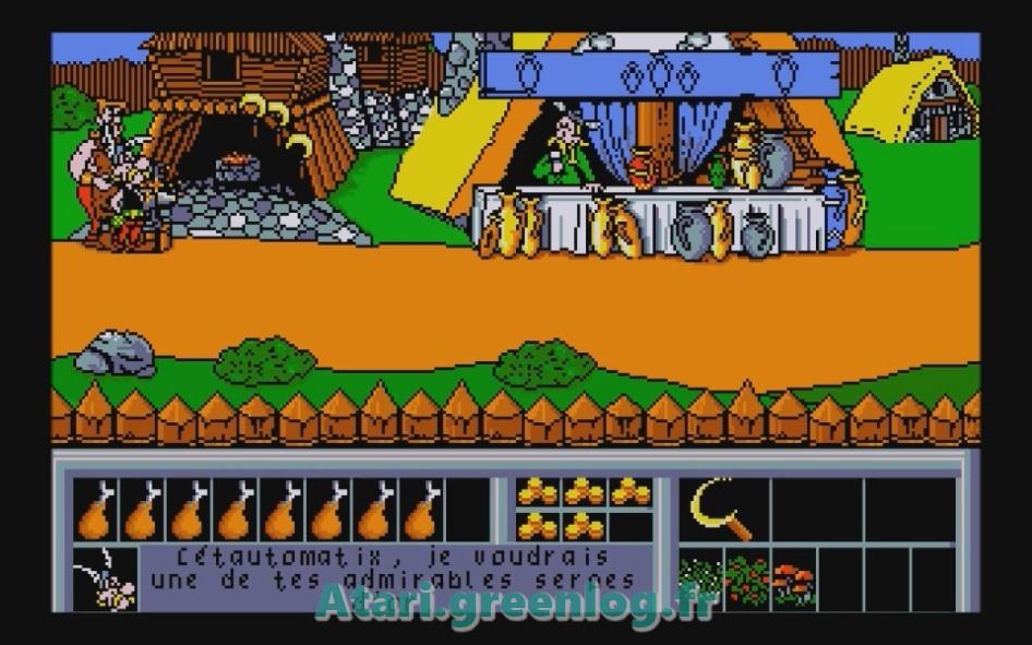 Astérix et le coup du menhir : Impression d'écran 9