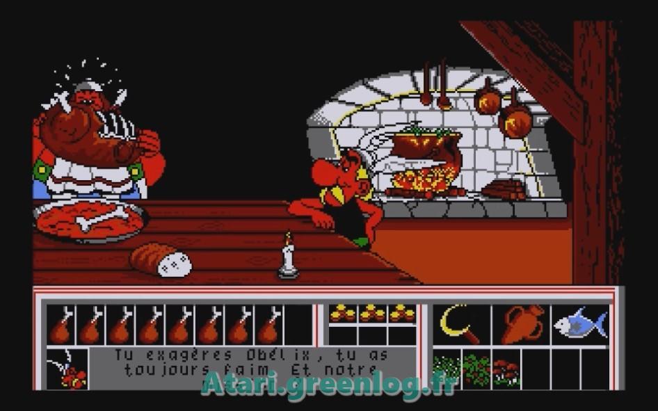 Astérix et le coup du menhir : Impression d'écran 14