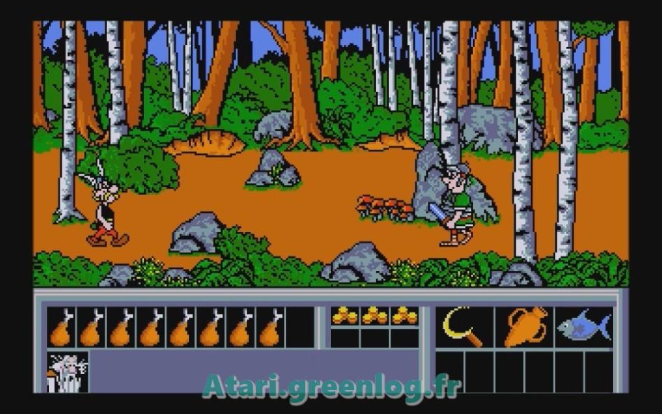 Astérix et le coup du menhir : Impression d'écran 20