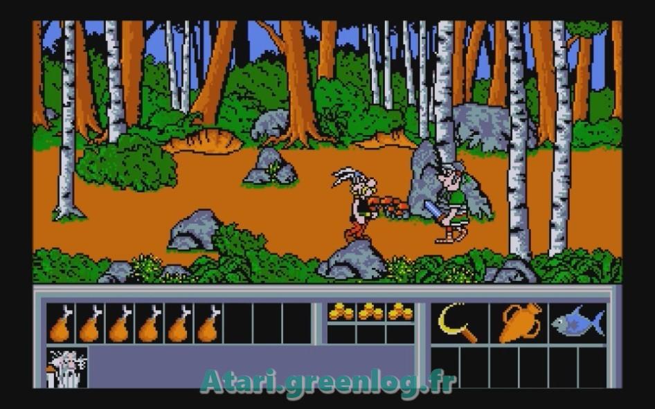 Astérix et le coup du menhir : Impression d'écran 21