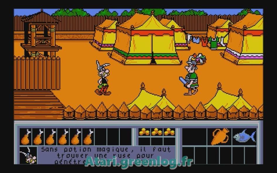 Astérix et le coup du menhir : Impression d'écran 23