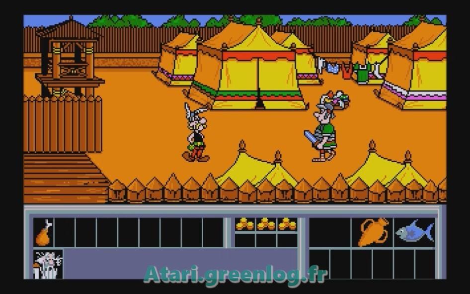 Astérix et le coup du menhir : Impression d'écran 24