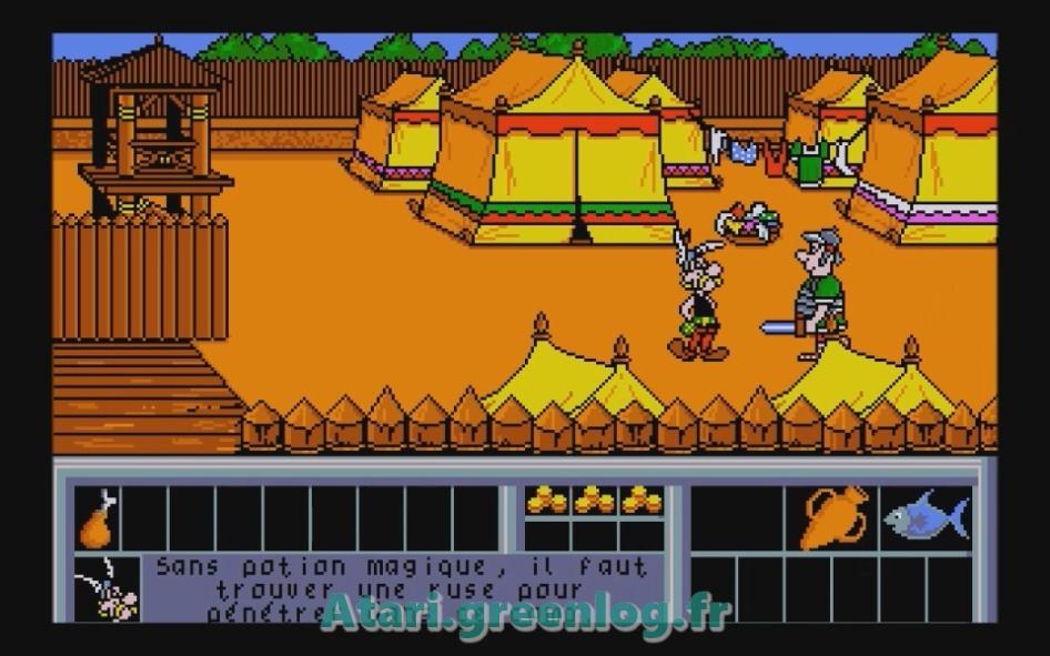 Astérix et le coup du menhir : Impression d'écran 26