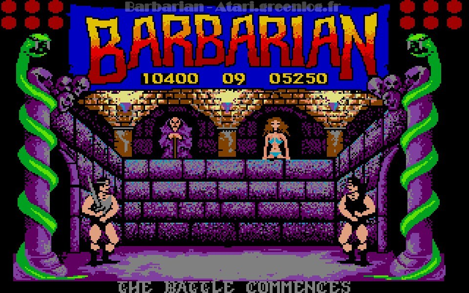 Barbarian : Niveau 10
