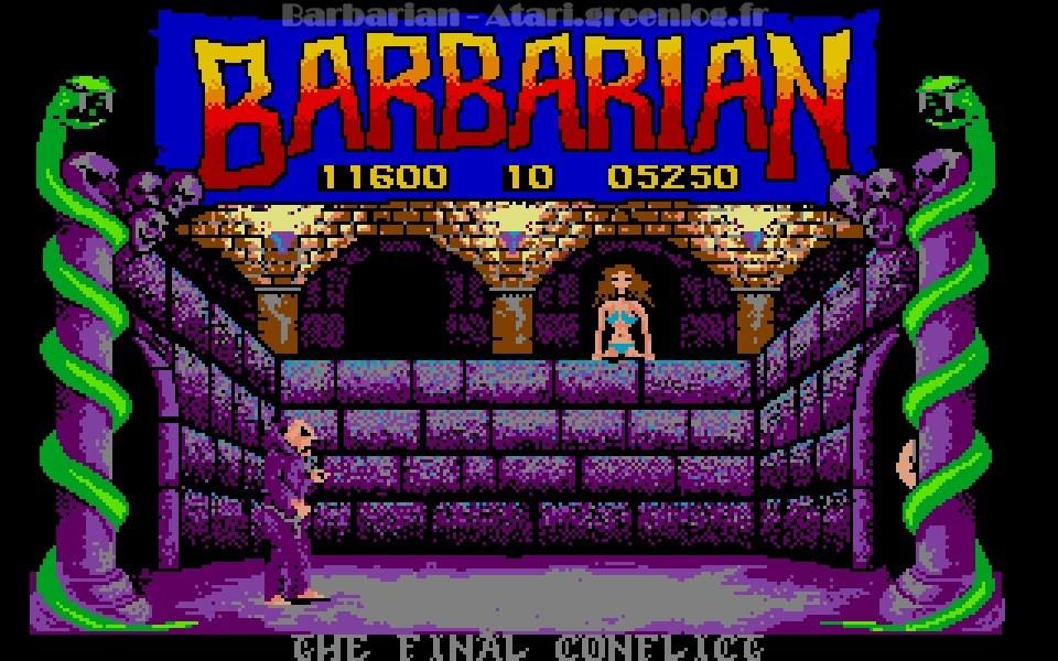 Barbarian : Boss