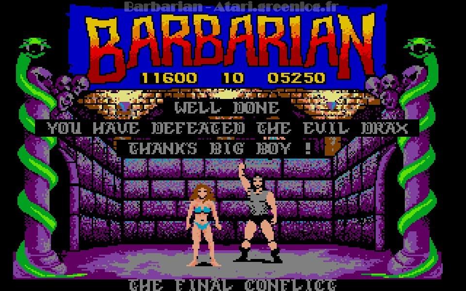 Barbarian : Fin