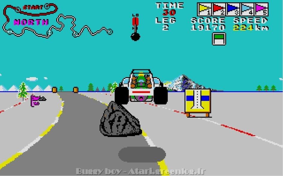 Buggy Boy : Impression d'écran 14