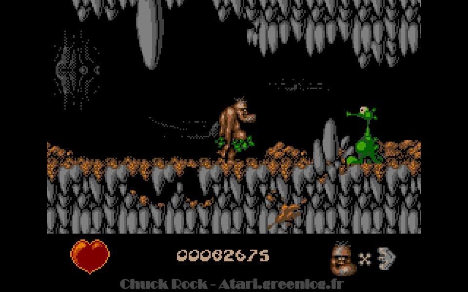 Chuck Rock : niveau 5