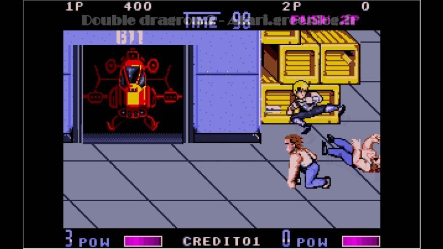 Double Dragon 2 : Impression d'écran 1