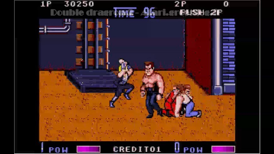 Double Dragon 2 : Impression d'écran 12