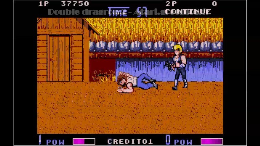 Double Dragon 2 : Impression d'écran 14