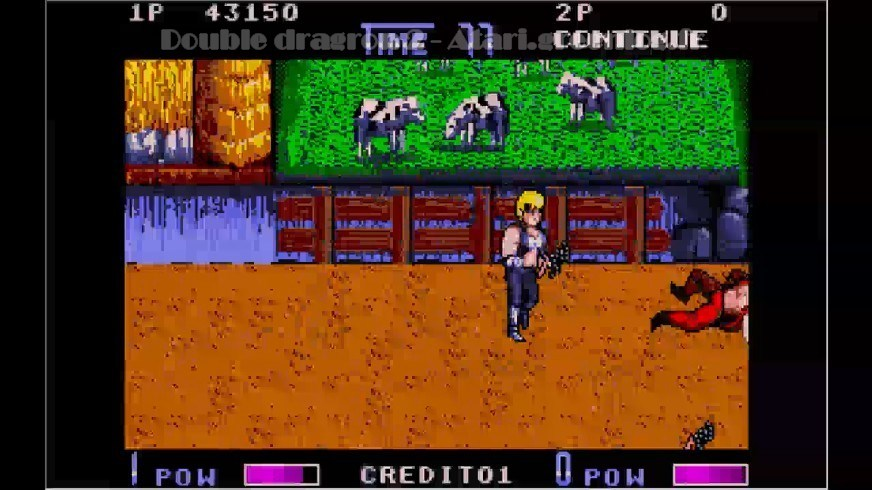Double Dragon 2 : Impression d'écran 16