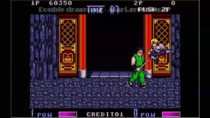 Double Dragon 2 : Impression d'écran 19