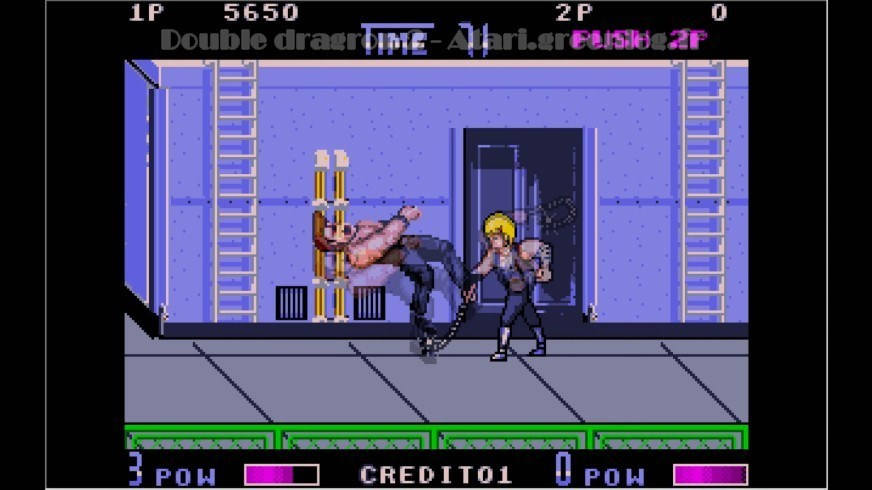 Double Dragon 2 : Impression d'écran 2