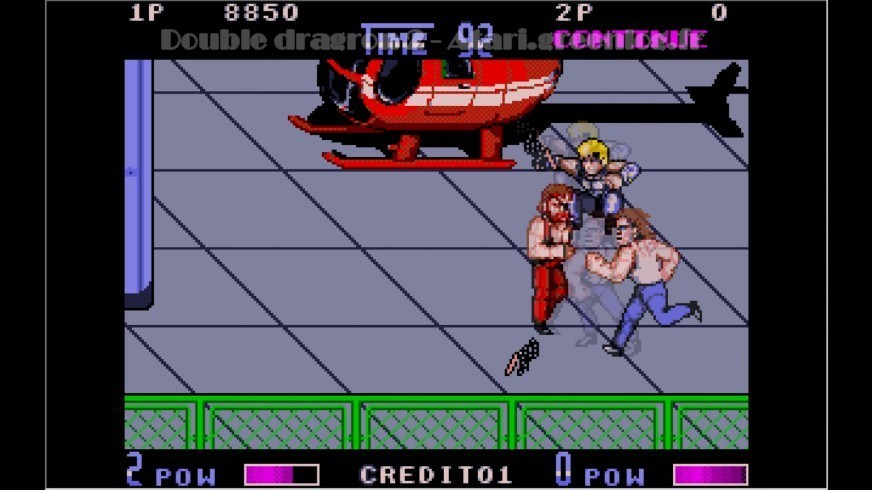 Double Dragon 2 : Impression d'écran 3