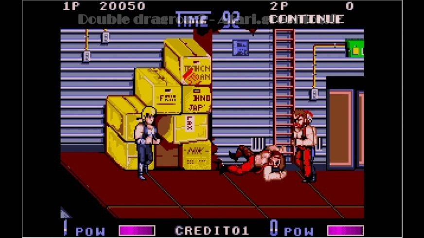 Double Dragon 2 : Impression d'écran 9