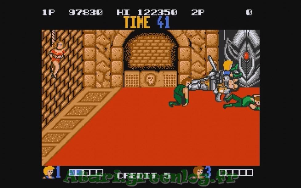 Double Dragon : Impression d'écran 27