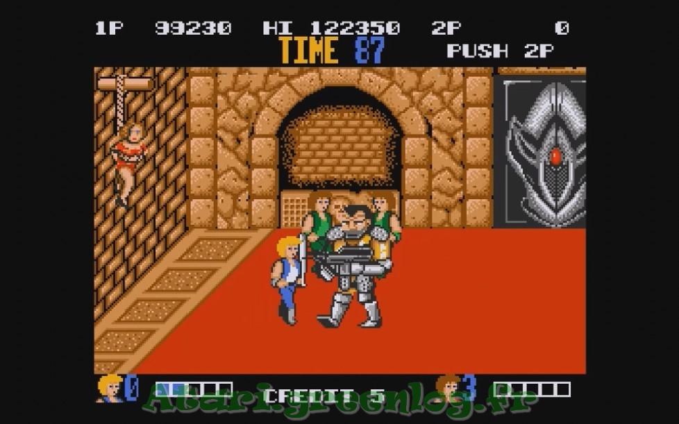 Double Dragon : Impression d'écran 28