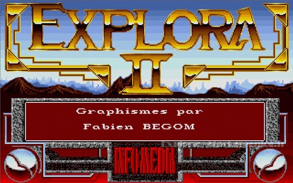 Explora II : Impression d'écran 3