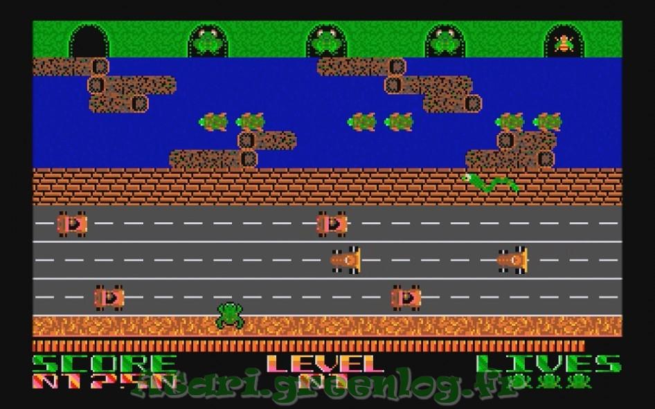Frogger : Impression d'écran 9