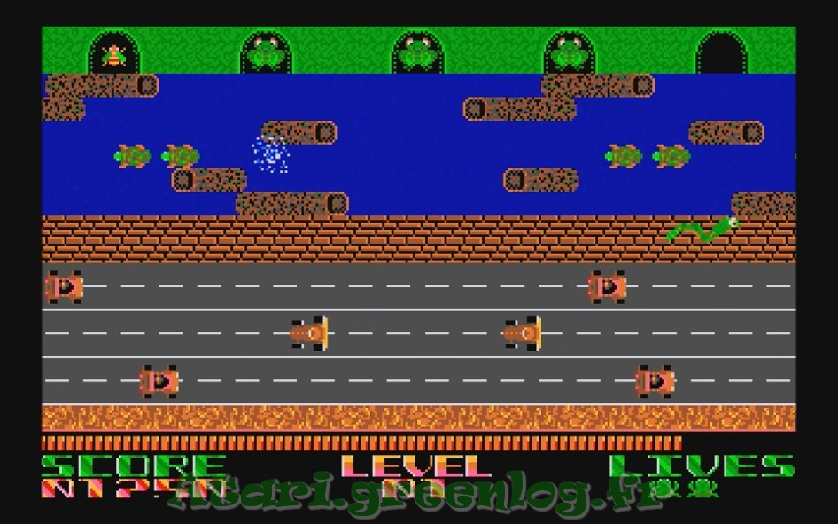 Frogger : Impression d'écran 12