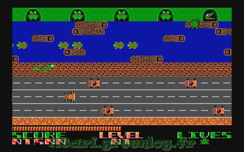 Frogger : Impression d'écran 14