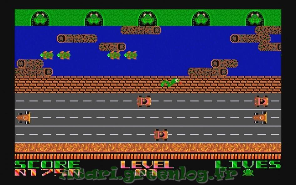 Frogger : Impression d'écran 15
