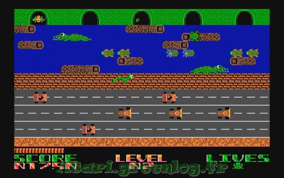 Frogger : Impression d'écran 16