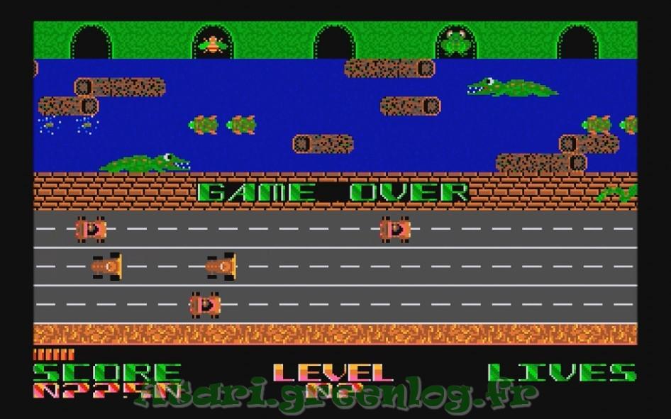 Frogger : Impression d'écran 18